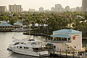 Canals at Fort Lauderdale, Florida, United States of America, North America