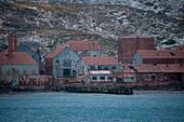 Former whaling station, Leith, South Georgia Island, Antarctica
