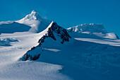 Dramatic mountain landscape, Half Moon Island, South Shetland Islands, Antarctica
