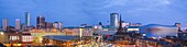 City skyline, Birmingham, Midlands, England, United Kingdom, Europe