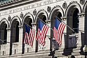 Boston Public Library, Boston, Massachusetts, New England, United States of America, North America