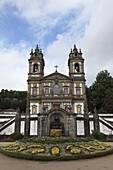 Bom Jesus do Monte Sanctuary Church, a Baroque place of worship, Braga, Minho, Portugal, Europe
