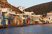 Klima, old fishing village, Milos Island, Cyclades Islands, Greek Islands, Aegean Sea, Greece, Europe