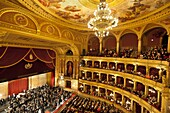State Opera House (Magyar Allami Operahaz) with Budapest Philharmonic Orchestra, Budapest, Central Hungary, Hungary, Europe