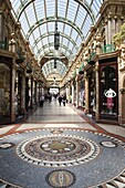 The County Arcade in the Victoria Quarter, Leeds, West Yorkshire, Yorkshire, England, United Kingdom, Europe