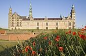 Kronborg castle, UNESCO World Heritage Site, Elsinore (Helsingor), North Zealand, Denmark, Scandinavia, Europe