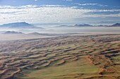 Aerial photo, Namib Naukluft National Park, Namibia, Africa
