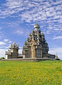 Transfiguration cathedral, Kizhi Island, Karelia, Russia