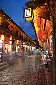 The Old Town, Lijiang, UNESCO World Heritage Site, Yunnan Province, China, Asia