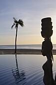 Swimmimg pool, Sine Saloum Delta, Senegal, West Africa, Africa