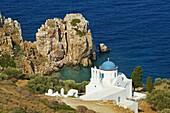 Panagia Poulati, monastery, Sifnos, Cyclades Islands, Greek Islands, Aegean Sea, Greece, Europe
