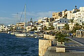 The Chora (Hora), Naxos, Cyclades Islands, Greek Islands, Aegean Sea, Greece, Europe