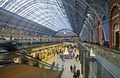 St. Pancras Station, London, England, United Kingdom, Europe