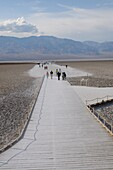 Badwater Basin, Death Valley, California, United States of America, North America