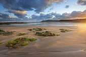 Early morning, Widemouth Bay, Cornwall, England, United Kingdom, Europe