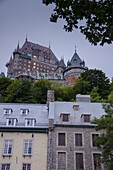 Chateau Frontenac, Quebec City, Province of Quebec, Canada, North America