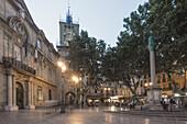 Market Place,  Town Hall,  Clock Tower,  Aix-en-Provence