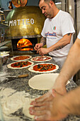 Pizza, Pizzeria Di Matteo, traditional, wood oven, dough, pastry, popular, fast-food, Italian, restaurant, lifestyle, culture, Italian food, Naples, Italy