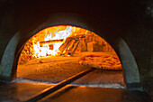 Pizza, Pizzeria Lombardi, simple and traditional, wood-fired oven, oven entrance, dough, pastry, popular, fast-food, Italian, restaurant, lifestyle, culture, Italian food, Naples, Italy