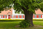 House at Born am Darss, Baltic Sea, Mecklenburg-West Pomerania, Germany