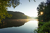 Biggesee, near Attendorn, Rothaargebirge, Sauerland region, North Rhine-Westphalia, Germany