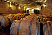 Wine cellar, Cliff Richards vineyard, Adega do Cantor, Guia, Algarve, Portugal