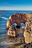 Beach Praia da Marinha, Faro, Algarve, Portugal