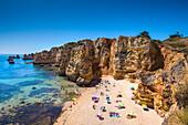 Beach, Praia Dona Ana, Lagos, Algarve, Portugal