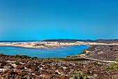 Lagoon, Praia da Bordeira, Carrapateira, Costa Vicentina, Algarve, Portugal