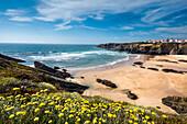Beach, Zambujeira do Mar, Costa Vicentina, Alentejo, Portugal