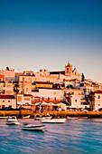 View of Ferragudo, Faro, Algarve, Portugal