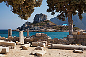 Ancient ruins on the Island of Kos, Kefalos, Greece