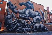 Bethnall Green graffiti, London, England