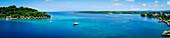 Iririki Island resort viewed from Port Vila, Efate Island, Vanuatu