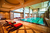 Indoor pool at the Empire Hotel and Country Club, Bandar Seri Begawan, Brunei