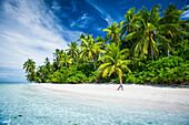An island that forms part of the marine park, a short boat ride from the Tuvalu mainland, Tuvalu