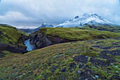 The mountains and remote rivers of the central highlands of Iceland, Iceland