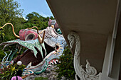 Wat Ban Tham, or The Dragon Temple, Kanchanaburi, Thailand