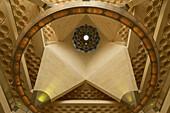 Ceiling of the main hall of the Museum of Islamic Art, Doha, Qatar
