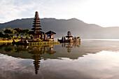 Temple on Lake Bratan, Bali