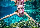 Snorkelling, Niue Island