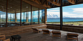 'Tierra Patagonia Hotel, Terre del Paine National Park; Torres del Paine, Magallanes and Antartica Chilena Region, Chile'