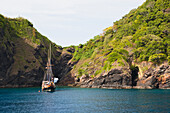 'World famous sites for popular dive excursions and live aboard boat trips; Similan and Surin islands, Thailand'