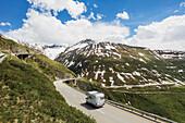 Swiss,Alps,Cloudy Sky,Tourist