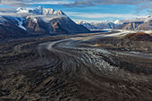 'Kluane National Park and Reserve with Kaskawalsh Glacier and Mount Maxwell; Yukon, Canada'
