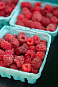 Fresh Raspberries, Riverdale Farmer's Market, Toronto, Ontario