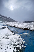 Wilcox Creek At The Columbia Icefields, Jasper National Park, Alberta