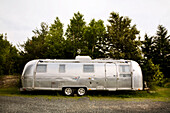 A 1970's Style Travel Trailer