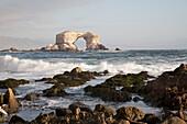 The Natural Monument Of La Portada De Antofagasta, Antofagasta Region, Chile