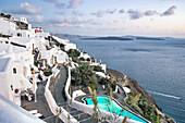 oia, island of santorini, cyclades, greece, europe